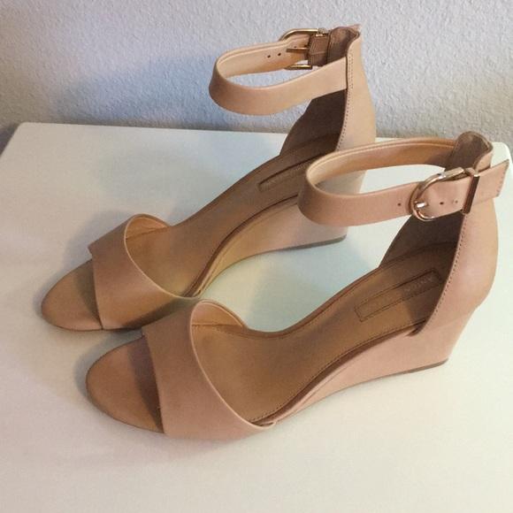 ad3cf561af0f ANTONIO MELANI Shoes - Nude Dressy Wedge